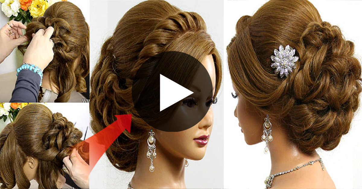 How To Create Wedding Prom Hairstyle