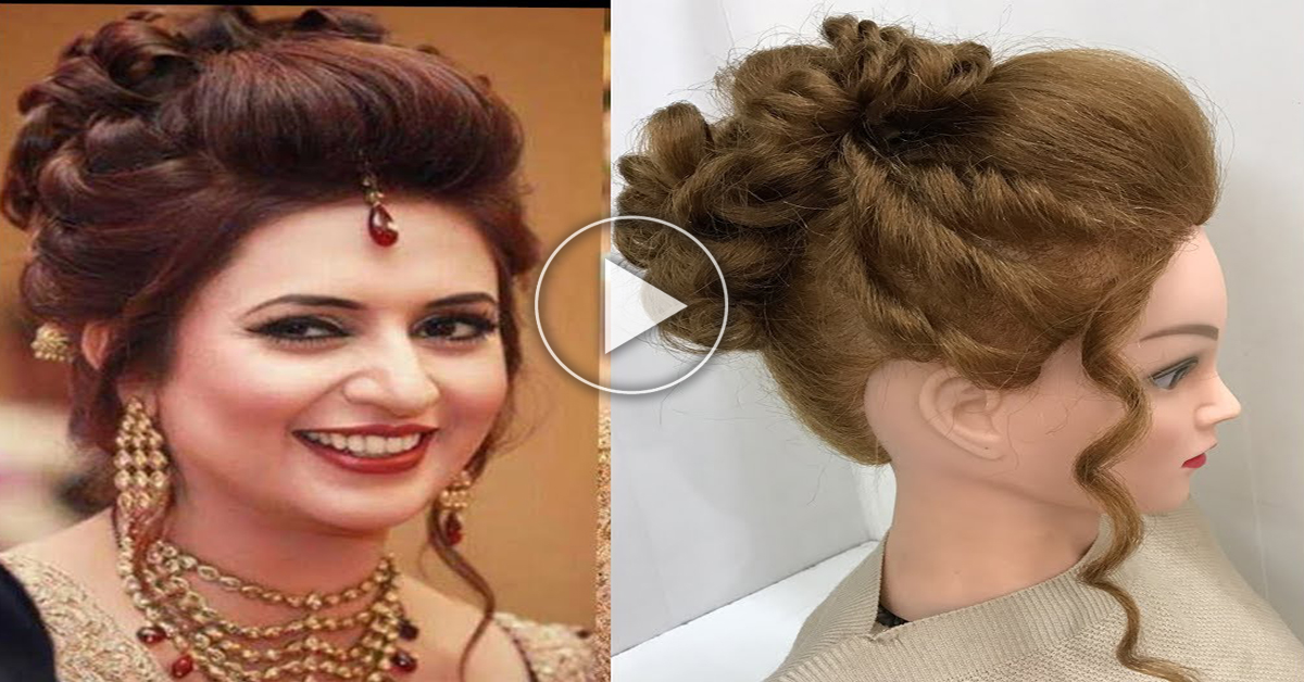 simple and easy hairstyles with puff easy wedding