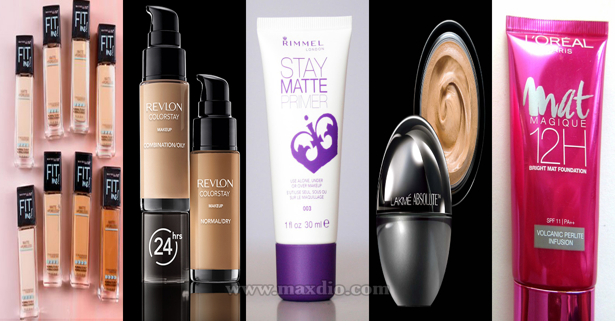 Best drugstore makeup for oily skin