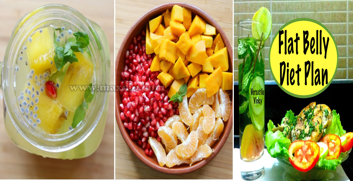 Diet plan for flat belly india