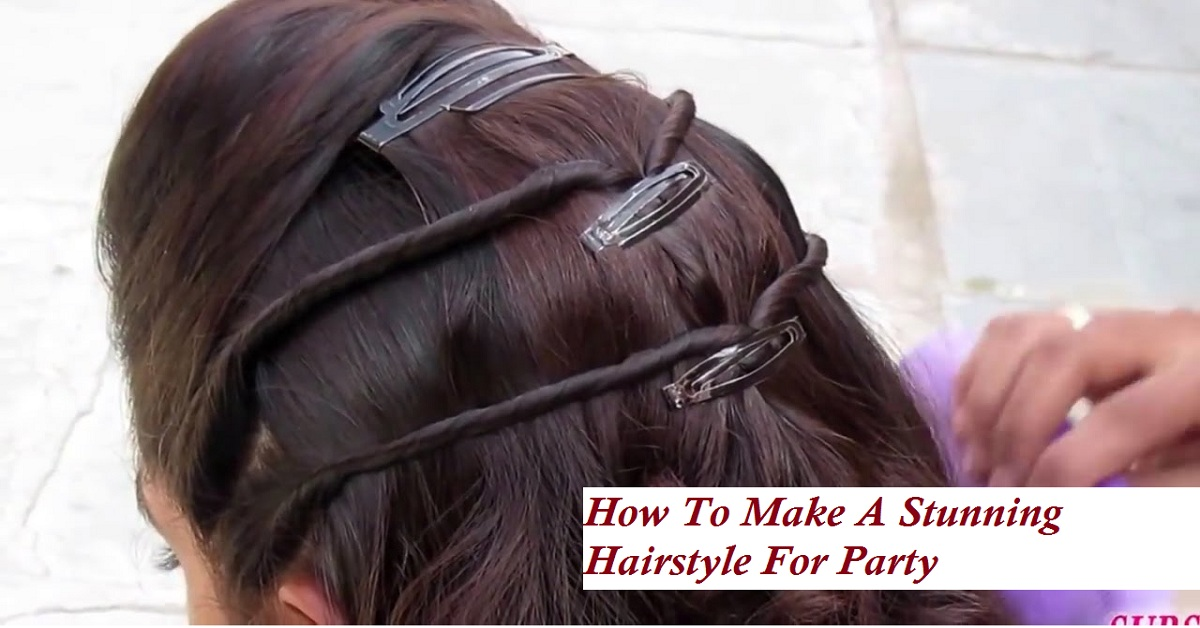 Simple Hairstyle For PARTY & WEDDING Must Try