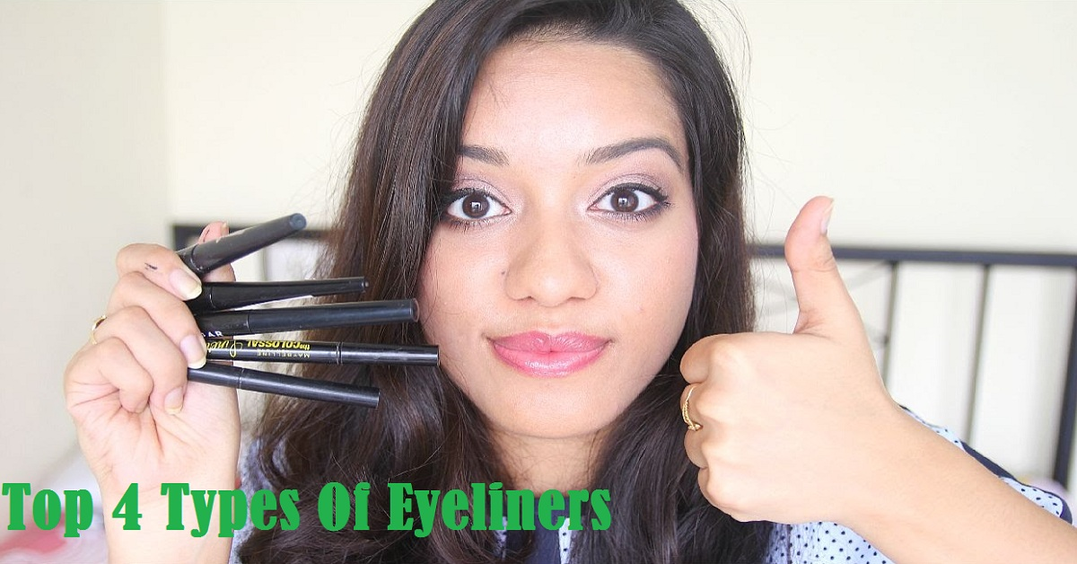 Top 4 Types Of Eyeliners