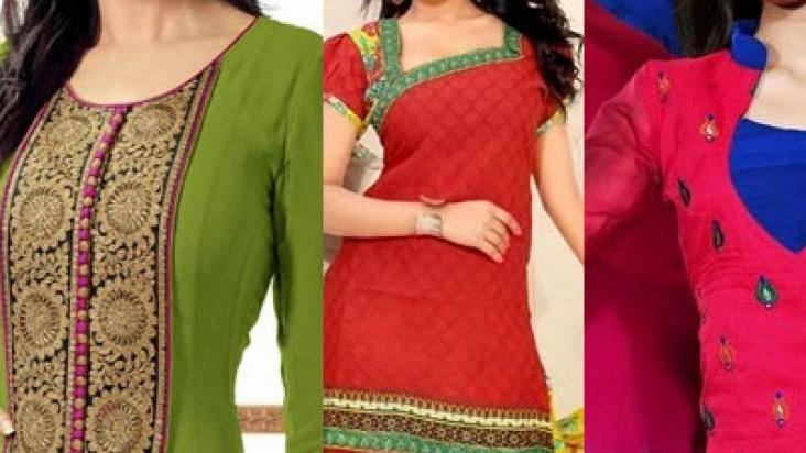 Top 50 Trending Churidar Neck Designs Patterns In India