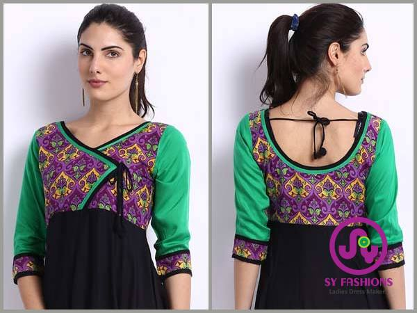 Churidar Neck Designs