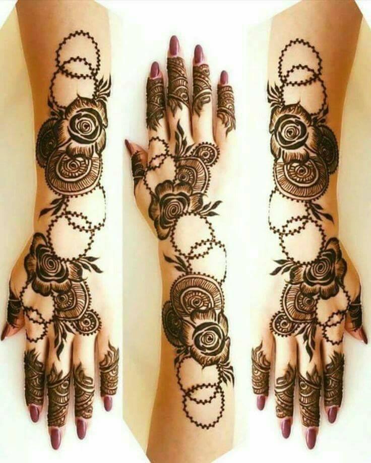 Modern Henna Designs: Top 200 Mehndi Designs & Different Types Of Henna Designs