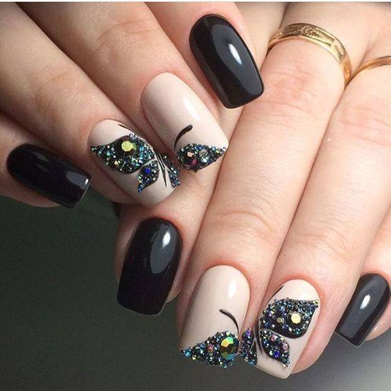 Airbrush Nail Techniques - 120 Trending Nail Designs Every Woman Should Try This Year