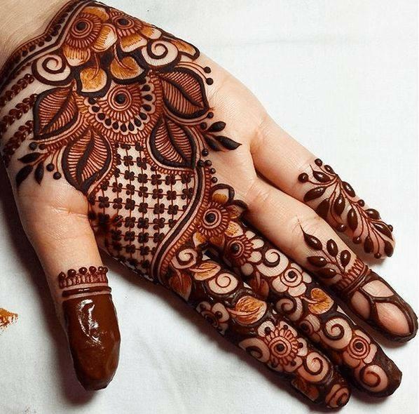 Latest Mehndi Designs: Top 200 Mehndi Designs & Different Types Of Henna Designs